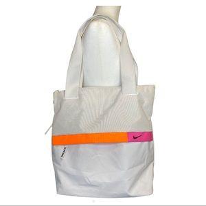Nike Radiate Training Tote Bag White Gym Track